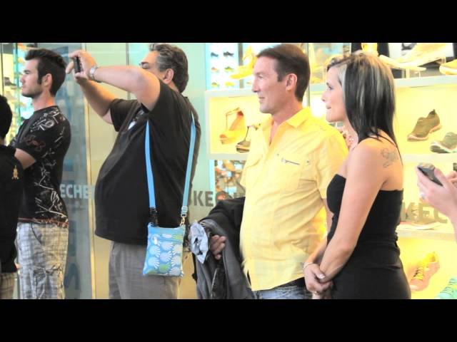 David & April's Las Vegas Proposal Flash Mob