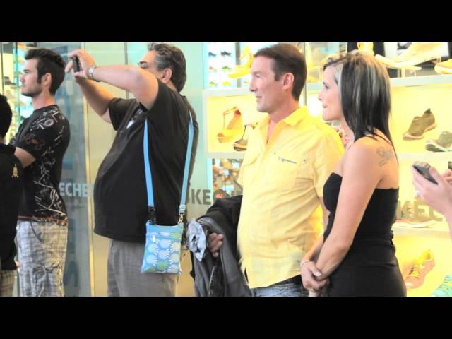 David & April's Las Vegas Proposal Flash Mob