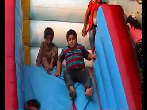 Outdoor slides activities for kids