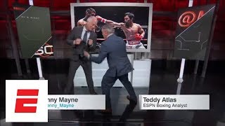 Teddy Atlas: Manny Pacquiao winner by TKO against 'heavy bag' Lucas Matthysse | SportsCenter | ESPN