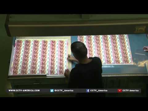 European Central Bank's quantitative easing announcement dominates Davos