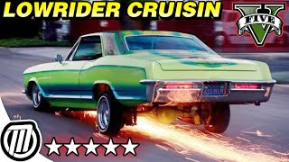 GTA 5 Online: CRUIZIN' DOWN THA STREET IN MY 64 - Lowrider DLC Gameplay (LIVE Stream 1080p)