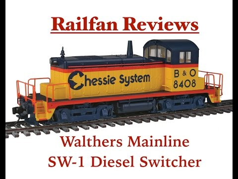 Railfan Reviews - Walthers Mainline SW-1