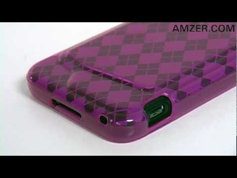 Amzer Luxe Argyle Skin Case for HTC Droid Incredible