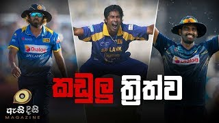 13 Sri Lankan wickets in succession