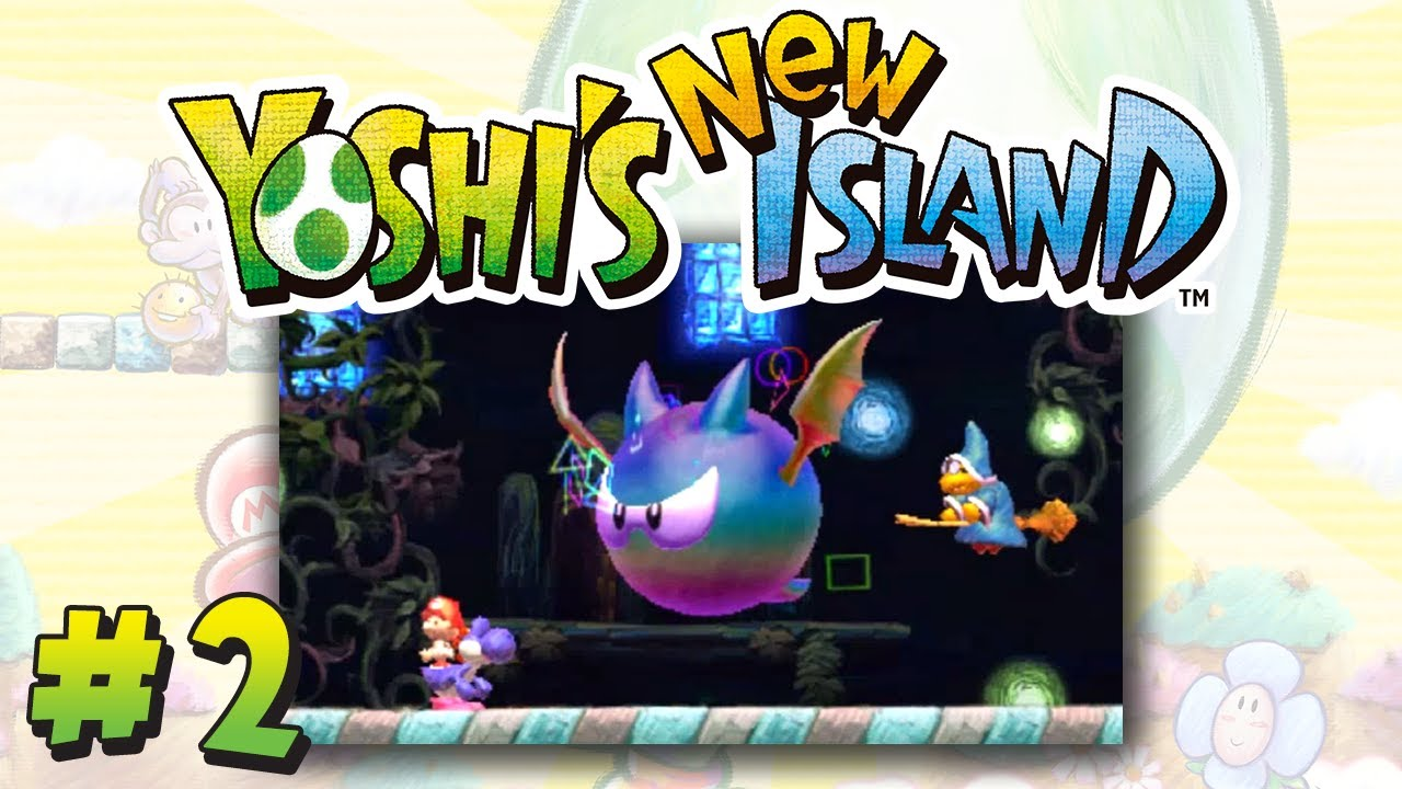 Yoshi New Island Monde