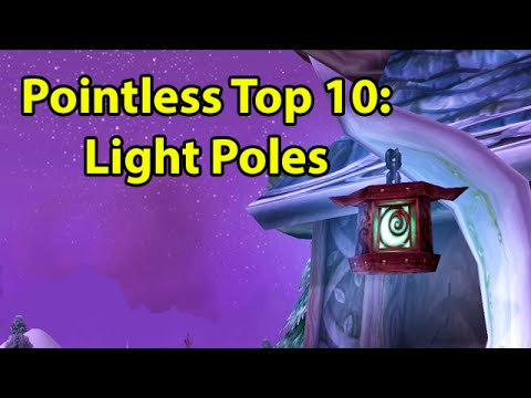 "Pointless Top 10 Light Posts  <a href=""https://www.youtube.com/watch?v=VkeWBjfRhxo"" class=""linkify"" target=""_blank"">https://www.youtube.com/watch?v=VkeWBjfRhxo</a>"