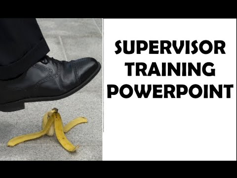 Supervisor Training: New and First-Time Supervisor Training Video, Pow