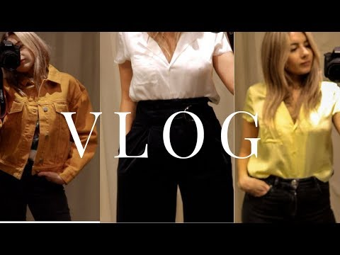Vlog 1 | Come Shopping With Me, Drinks & Spring Cleaning