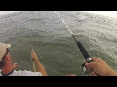 Fishing Sandy Hook NJ 9-26-2012
