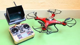 Amazing RC Quadcopter - FPV With Camera
