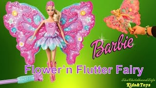 Barbie Flower N Flutter Fairy Barbie Doll by Mattel | Barbie Dolls Collectio | By TheChildhoodLife