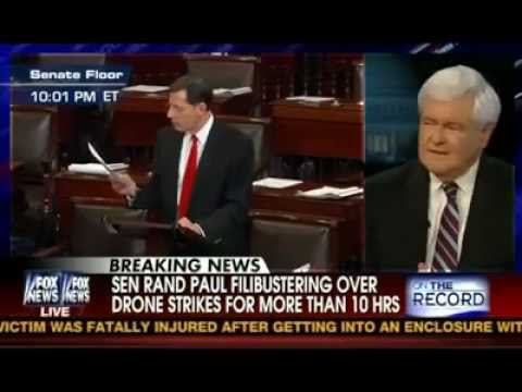 Newt Gingrich on Greta Van Susteren March 6 2013