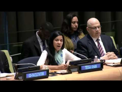 Ms. Tessa Khan - Asia Pacific Forum on Women, Law & Development - UN FfD Hearing
