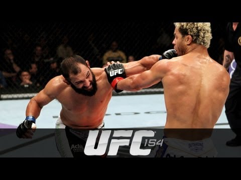 UFC 154: Johny Hendricks Pre-fight Interview