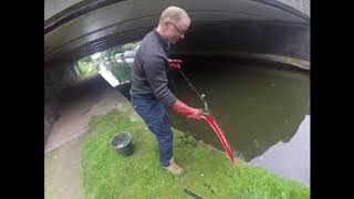 goz an Jim magnet fishing uk|Interesting finds including old safe