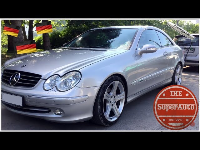 2003 Mercedes-Benz CLK 320 (W209) Avantgarde Review - YouTube