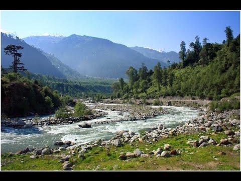 Manali Himalayas Beas River Banks - Amazing Scenic Beauty *HD*