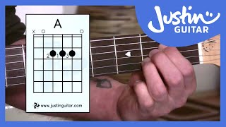 Beginner Guitar Lessons - Stage 1: The A Chord - Your Second Super Easy Guitar Chord [BC-112]