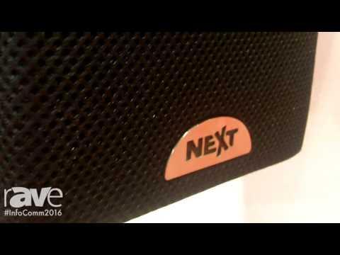 InfoComm 2016: Next ProAudio Features Kubix Series Speakers