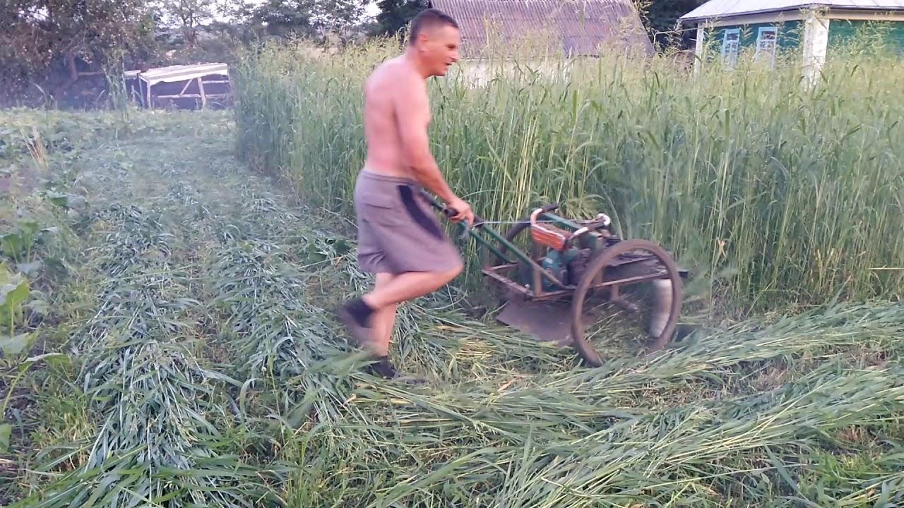 Косилки травы своими руками