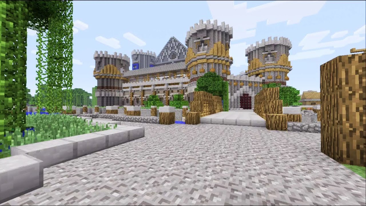how to build an epic castle in minecraft