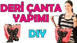 Deri Çanta Nasıl Yapılır? | Kendin Yap! | Do It Yourself!
