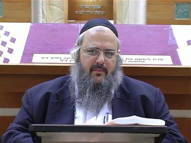 הרב שלמה לוינשטיין - פרשת משפטים (בבית הכנסת הגדול) ✔