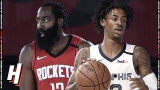 Houston Rockets vs Memphis Grizzlies - Full Game Highlights July 26, 2020 NBA Restart