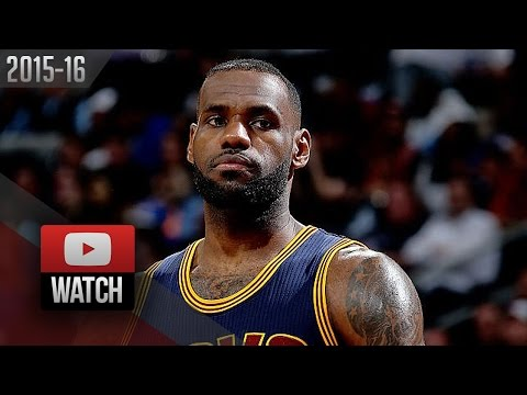 LeBron James Full Highlights at Pistons 2016 Playoffs R1G4 - 22 Pts, 11 Reb, 6 Ast