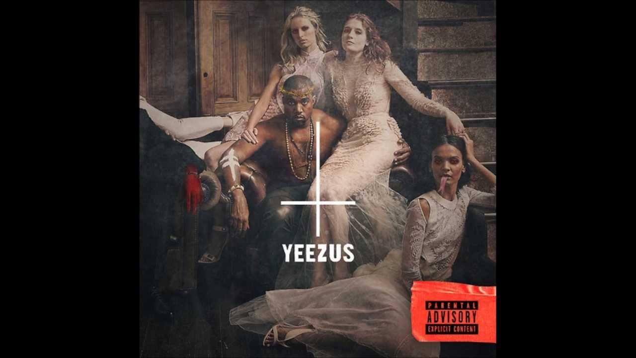 Yeezus Real Album Cover Black Skinhead  Yeezus