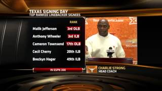 Charlie Strong signing day press conference [Feb. 4, 2015]