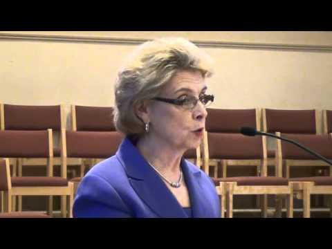 Senior Lobby 2012 - Governor Chris Gregoire's Speech Part 1 of 3