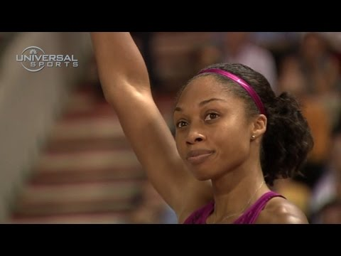 Allyson Felix wins 2014 Diamond League - Universal Sports