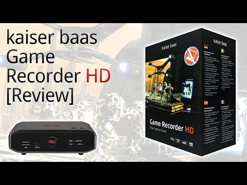 Kaiser Baas Game Recorder HD Capture Card [Review]