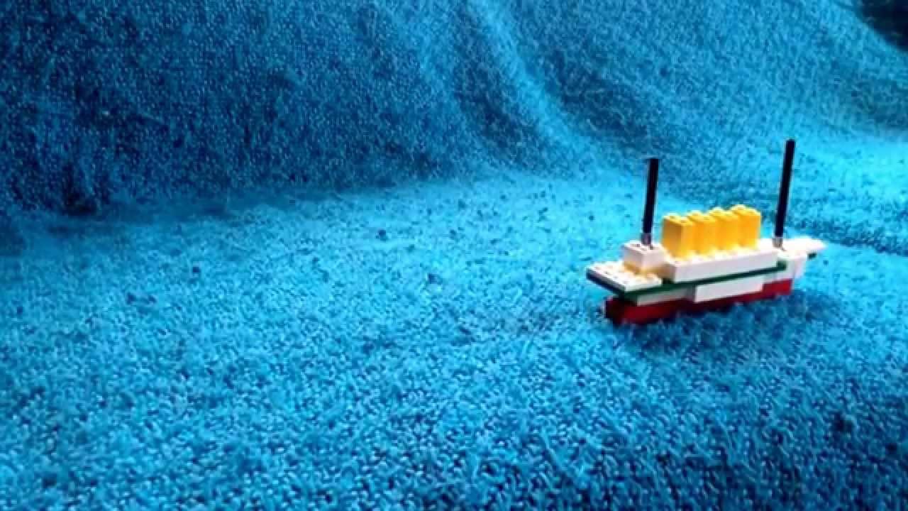 Lego Britannic Sinking Lego Britannic Sinking