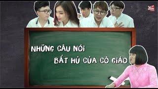 """SchoolTV    Những câu nói """"bất hủ"""" của thầy cô giáo"""