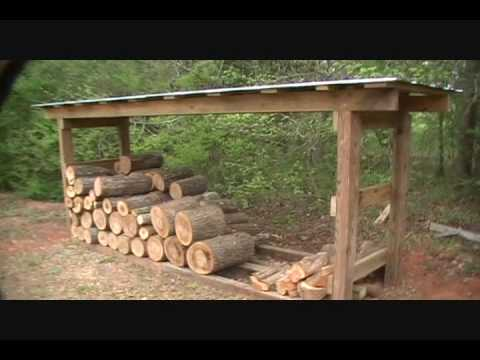 Firewood Shed.wmv - YouTube