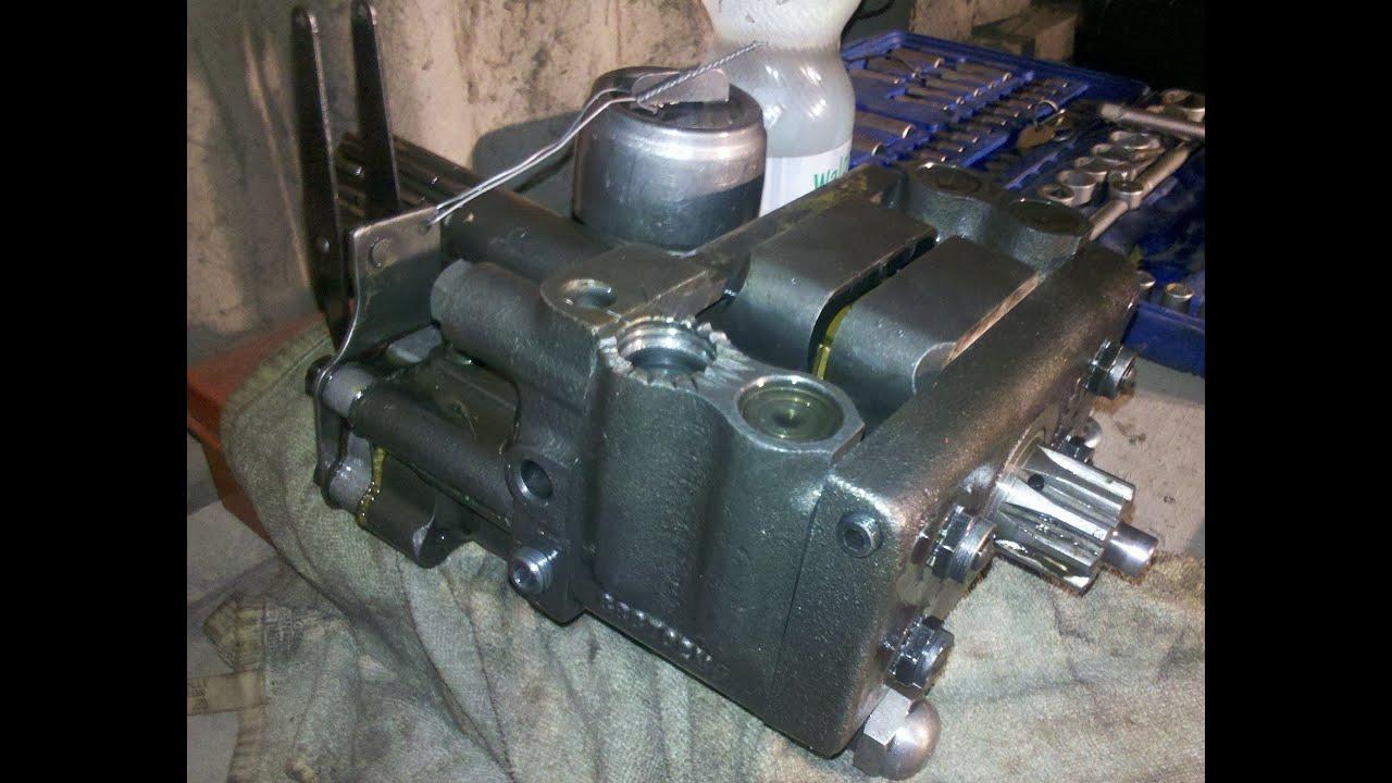 Massey Ferguson Multi Power Parts : Mf multi power hydraulic pump removal part youtube