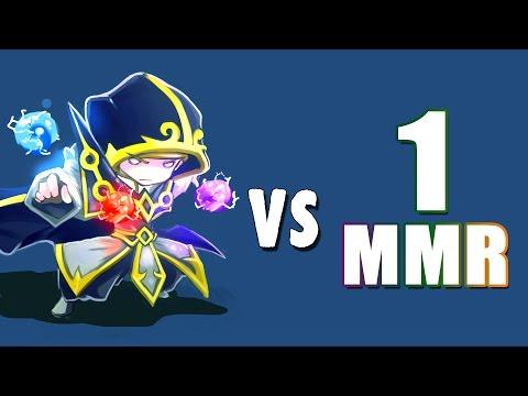 Invoker vs 1 MMR