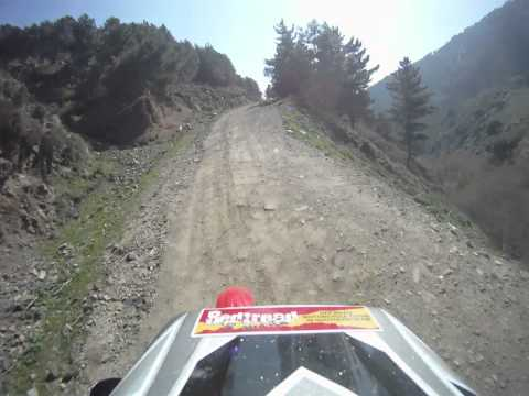 Trail Riding in Spain with Redtread Honda - Day One (Ed's Footage)