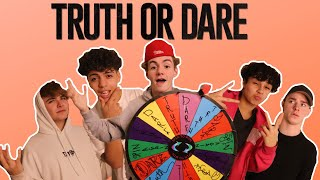 Spin the MYSTERY Wheel Challenge! Truth or Dare | Ft. Diego Martir, Jj Perkins & Carlos Mena