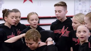 Abby Shows The Team HER SCARS | Dance Moms | Season 8, Episode 1