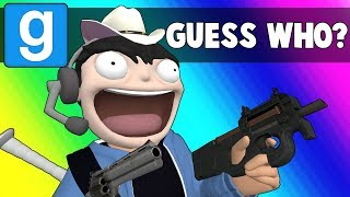 Gmod Guess Who Funny Moments - They Have Guns Now?!  (Garry's Mod)