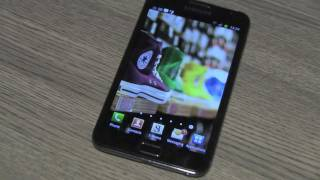 Galaxy Note Unboxing + Flip Leather Cover and Hands on