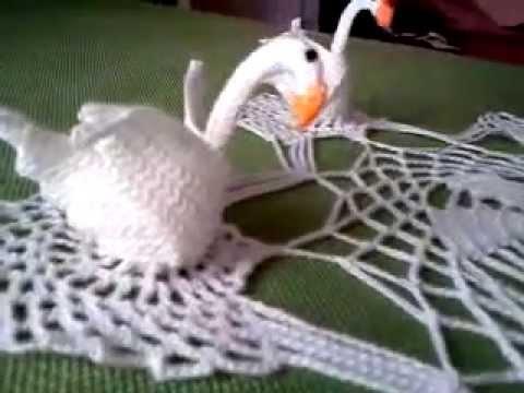 Cisnes a croche - YouTube