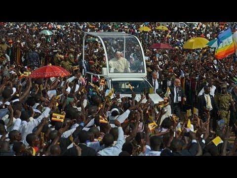 Pope Francis Celebrates Mass in Uganda