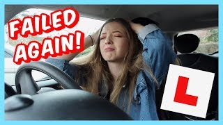 I FAILED My Driving Test AGAIN!