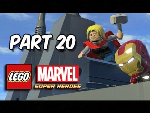 LEGO Marvel Super Heroes Gameplay Walkthrough - Part 20 MODOK That Sinking Feeling