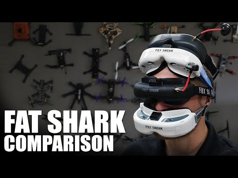 Fat Shark FPV Goggle Comparison   Flite Test